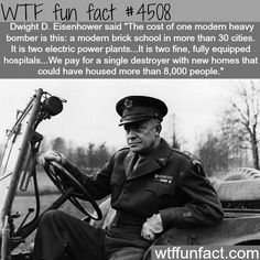 """But Trump wants to cut the entire Department of Education & increase defense spending to bring us back up to WWII era readiness - despite the fact that we face no serious threat from any superpower & he claims he a """"dove"""". 