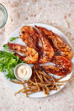 The peri peri marinade can be used to flavour all kinds of meat, chicken and fish. If you prefer a bit more heat, add a pinch of dried chilli flakes too. Peri Peri Marinade, Prawn, Shrimp, Fries Recipe, Chilli Flakes, Delicious Dinner Recipes, Chicken Wings, Seafood, Fish