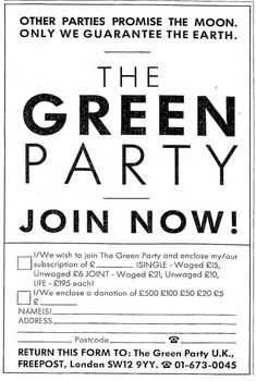 13 April, 1990 Green Party, Political Party, Going Crazy, Fundraising, Charity, Wish, About Me Blog, Feelings, Fundraisers