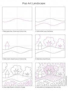 Pop Art Landscape diagram