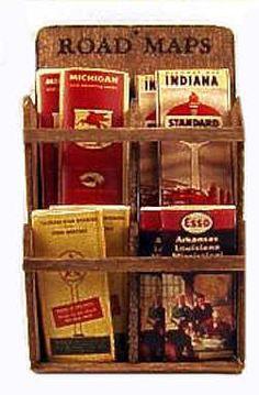 Miniature gas station