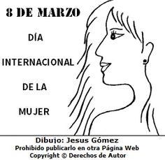 124 Mejores Imágenes De Día De La Mujer One Day Dia De Y Colouring In