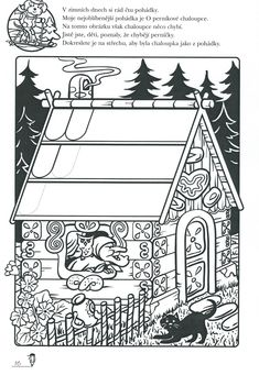Hansel Y Gretel, Class Activities, Nursery Rhymes, Coloring Pages, Fairy Tales, Kindergarten, Preschool, Playing Cards, Education
