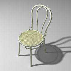 Model No.14 Thonet - the classic Bistro chair 1859. Michael Thonet: the original inventor & manufacturer of bent wood.