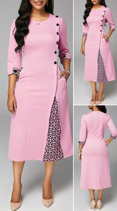 African Wear Dresses, Latest African Fashion Dresses, Women's Fashion Dresses, Fashion Fashion, Fashion Women, Beautiful Dress Designs, Stylish Dress Designs, Designs For Dresses, Pretty Dresses
