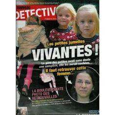 Le Nouveau Détective - n°1484 - 23/02/2011 - Les petites jumelles vivantes ! [magazine mis en vente par Presse-Mémoire]