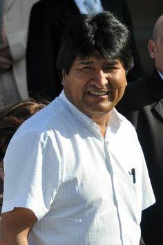 Evo Morales,Presidente de Bolivia, a su llegada al Aeropuerto Internacional José Martí de La Habana, Cuba, el 26 de enero de 2014, para participar en la II Cumbre de la Comunidad de Estados Latinoamericanos y Caribeños (CELAC). AIN FOTO/Marcelino VÁZQUEZ HERNÁNDEZ
