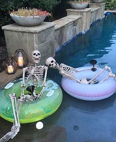 the 9 inflatable nightmare before christmas portal hammacher schlemmer cool products pinterest nightmare before before christmas and portal - Halloween Pool Decorations