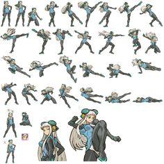 "k3、さんのツイート: ""人様のキャラを勝手にドットにして遊んでましたが もうそんな時間も元気も無いです…(一部データ消滅で悲しい…)… "" Body Reference Drawing, Human Poses Reference, Animation Reference, Figure Drawing, Art Poses, Drawing Poses, Character Poses, Character Art, Anim Gif"