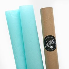 Aquamarine Tissue Paper 40 Sheets 500mmx760mm by DesignMyPartyShop