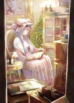 「ラクトガール」/「まつたに」のイラスト [pixiv] #東方#パチュリー#木吉カズヤ#ワイングラス#リュネット・パッチェ#そしてこのプロフ絵である#pixiv