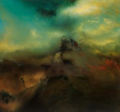 Artist Samantha Keely Smith Explores Powerful Collisions of Dark and Light in Her Abstract Elemental Paintings