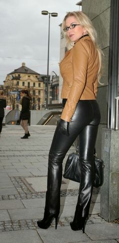 25 Best Heikes Leather Images Leather Lady Leather