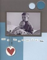 A Project by jackie.bonette from our Scrapbooking Gallery originally submitted 07/02/02 at 12:46 PM