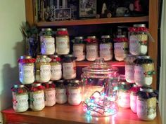 Whipping Up Christmas: A Pinterest-inspired crafting party that yielded 170 neighbor gifts for 12 friends.