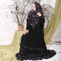 Asyiah Syari by Kanaya Hijab Fashion, Victorian, Dresses, Gowns, Dress, Day Dresses, Clothing, The Dress, Skirts