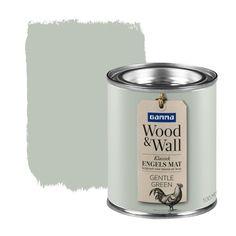 Gamma wood wall krijtverf blurry blue 500 ml betonlook for Betonlook verf gamma