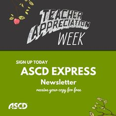 Sign up to receive ASCD Express for free.