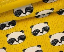 Sweat - Panda - Bär - Senfgelb - Andrea Lauren