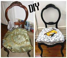 Gör om möbler - re-make chair
