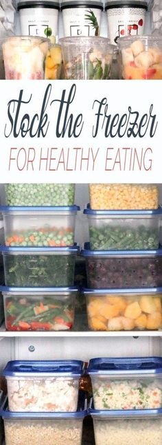 How to Stock Your Freezer for Healthy Eating 7 Whole-Food products and recipes that your freezer should never be without. A step-by-step guide to stocking your freezer for healthy eating. Make Ahead Freezer Meals, Freezer Cooking, Freezer Recipes, Organize Freezer, Meal Prep Freezer, Freezable Meal Prep, Bulk Cooking, Cooking Kale, Freezer Storage