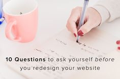 10 Questions to ask yourself before a website redesign - Kim Lawler Creative