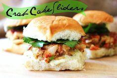 Coastal recipe for crab cake sliders
