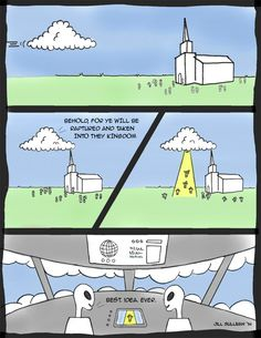 """My first comic! """"The Rapture"""""""
