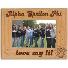 Alpha Epsilon Phi Sorority love my lil Frame comes exactly as shown.