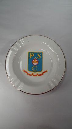Vintage Sabina Line Quality Penco Service Advertising Large Ceramic Ashtray