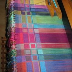 Doubleweave Silk Shawl