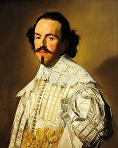 Portrait of a Gentleman in White by Frans Hals ca. A work from the collections of the de Young and Legion of Honor museums of San Francisco, CA. Baroque Painting, Baroque Art, Johannes Vermeer, Rembrandt, Museum Of Fine Arts, Art Museum, List Of Paintings, Dutch Golden Age, Dutch Painters