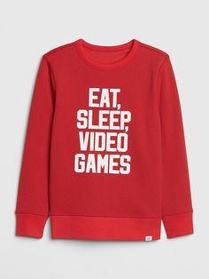 Instant Message Snacks at Midnight-Toddler Crew Fleece Sweatshirt