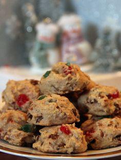 Fruitcake Cookies - lighter than fruitcake and easier to make!