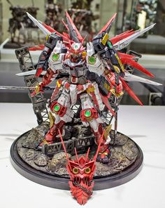 GUNPLA BUILDERS WORLD CUP 2014 (GBWC): CHAMPION & FINALIST ENTTRIES - On Display @ Gundam Front Tokyo [Part 4]