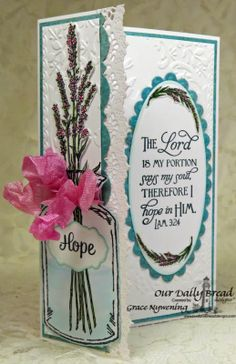 ODBDSLC187 Inspiration Challenge Stamps - Our Daily Bread Designs Lavender, Apothecary Bottles, Joy in a Jar, Scripture Collection 5, ODBD Custom Apothecary Bottles Die, ODBD Custom Antique Labels & Border Dies