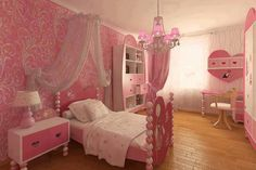 Pretty in pink bedroom
