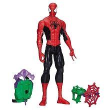 Spider-Man - Figura Titan com Equipamento Lança Redes