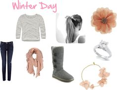 """Winter Day"" by love-lauren-rae143 on Polyvore"