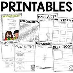 Best 25+ Responsibility lessons ideas on Pinterest