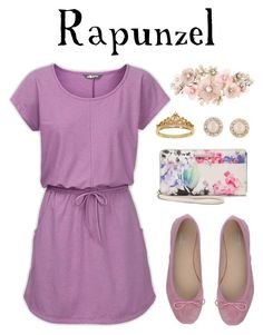 """""""Rapunzel"""" by waywardfandoms ❤ liked on Polyvore featuring The North Face, Paolo Simonini, Dana Buchman, Eternally Haute, Accessorize, Kate Spade and disney"""