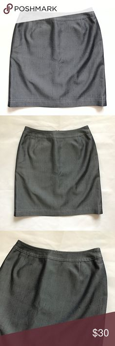 """ESCADA - Vintage Gray Silk Skirt 36 / 4 / Small ESCADA MARGARETHA LEY Vintage Gray Silk Skirt  Size 36 (would consider this a US 4, please see measurements) Great Pre-Owned Condition! Retail: $425.00  Approximate Measurements (flat): Waist - 13.5"""" Hips - 17.5"""" Length - 19""""  100% Silk  Bundles Welcome! NO PAYPAL! Please allow 2 days handling!  Thank you! 😊 Escada Skirts"""