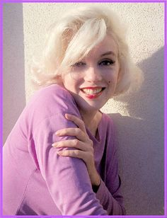 The ever beautiful Ms Marilyn Monroe, photographed by George Barris, circa 1962.