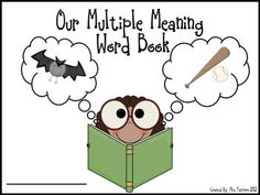 Free!!! Multiple meaning word book!! 31 pages