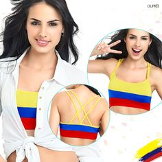Colección tricolor. Colombia. Dupree Sports, Stuff To Buy, Fashion, Vibrant Hair Colors, Seasons, Colombia, Hs Sports, Moda, Fashion Styles