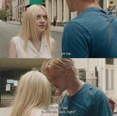 anamorphosis-and-isolate: — Very Good Girls You hurt me.David: So you had to hurt me back, right? Film Quotes, Book Quotes, Heart Quotes, Edgy Quotes, Citations Film, Very Good Girls, You Hurt Me, Movie Lines, Book Girl