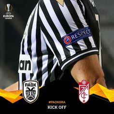 Kick off at Toumba Stadium! Let's go guys! #PAOKGRA #UEL @europaleague @granadacf