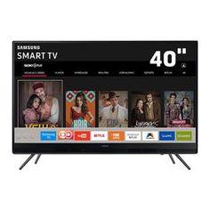 "Smart TV LED 40"" Full HD Samsung 40K5300 com Pl..."