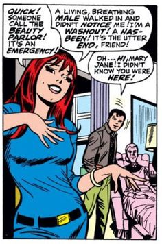 Mary Jane (from Amazing Spider-Man #50)