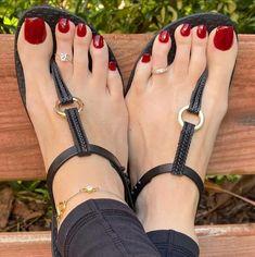 Pretty Sandals, Beautiful Sandals, Beautiful Toes, Cute Toes, Pretty Toes, Feet Show, Teen Feet, Foot Pics, Feet Nails